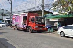 Przewieziona ciężarówka koka-kola Fotografia Stock