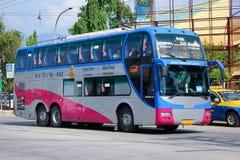 Przewieziony rządowy firmy kopii pokładu benze VIP autobus żadny 18-992 Obraz Stock