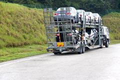 przewoźnik automobil Zdjęcie Royalty Free