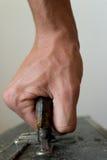 przewożenia skrzynka ręka Obraz Stock