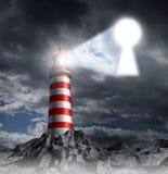 Przewodnictwo klucz ilustracja wektor