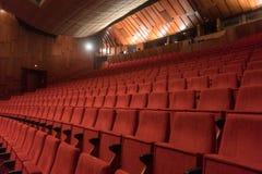 przewodniczy czerwonego teatr Zdjęcia Royalty Free
