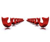 przewodniczy czerwony Zdjęcia Stock