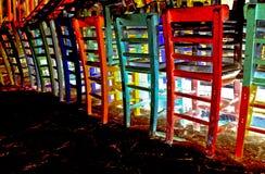 przewodniczy neon Zdjęcie Royalty Free