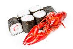 przewróć sushi Zdjęcie Stock