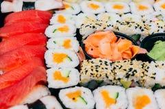 przewróć sushi Obrazy Stock
