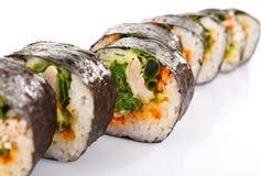 przewróć sushi obraz stock