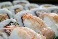 przewróć sushi Fotografia Royalty Free