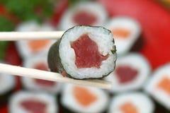 przewróć sushi Obraz Royalty Free