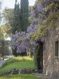 21 2018 Przez Appia Kwiecień dalej, Appian sposób od Porta Appia, anicien fotografia stock