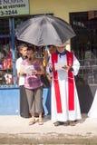 Przez Crucis świętowania Obraz Royalty Free