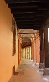 Przez Del Carro Rampionesi, Bologna Zdjęcia Royalty Free