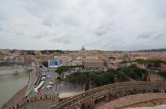 Przez della Conciliazione, świętego Peter ` s kwadrat, niebo, miasto, obszar miejski, miasteczko zdjęcie royalty free
