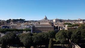 Przez della Conciliazione, miasto, historyczny miejsce, punkt zwrotny, miasteczko Zdjęcia Stock