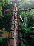 Przez irygacja most Obraz Stock