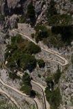 Przez Krupp, sławny punkt zwrotny w Capri zdjęcie stock