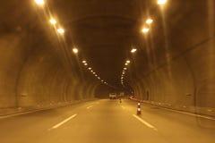 Przez tunelu Zdjęcia Royalty Free