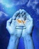 przeznaczenia karm nieba czas wszechświat Obrazy Royalty Free