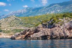 Przno in Montenegro Stockfotografie