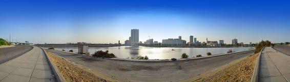 Przy światłem dziennym Jeddah śródmieście obraz royalty free