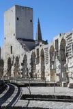 Przy Arles rzymski amfiteatr zdjęcia royalty free