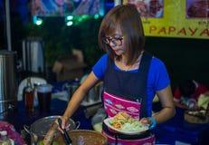Przy Asiatique Fotografia Stock