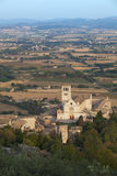 Przy Assisi San kościół Francis Obrazy Royalty Free