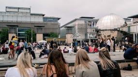 Przy Bristol, milenium kwadrat zdjęcia royalty free