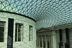 Przy British Museum obrazy stock