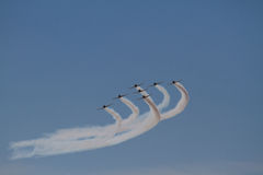 Przy CNE Toronto Pokaz Lotniczy 2012 Obrazy Royalty Free