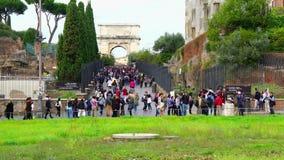 Przy Colosseum bramą zdjęcie wideo