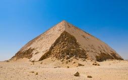 Przy Dahshur przegięty ostrosłup, Kair, Egipt obraz royalty free