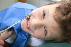 Przy dentystą Zdjęcia Stock