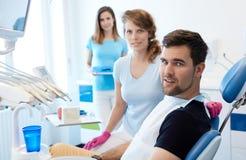 Przy dentysty ` s biurem obraz royalty free