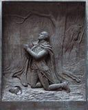 Przy Dolinną Kuźnią modlitwa obrazy stock