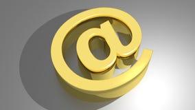 Przy - emailem Fotografia Stock