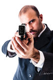 Przy gunpoint Fotografia Stock