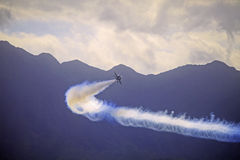 Przy Kaneohe błękitny Aniołowie Airshow fotografia stock