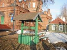 Przy kościół dobrze Fotografia Stock