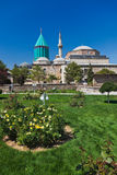 Przy Konya Mevlana Mauzoleum Muzeum i Turcja Fotografia Royalty Free