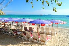 Przy Larn Wyspą Samae plaża, Pattaya Tajlandia. Zdjęcie Stock