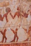 Przy Luxor Hatshepsut świątynia, Egipt zdjęcie stock