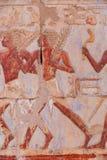 Przy Luxor Hatshepsut świątynia, Egipt obrazy stock
