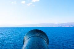 Przy morzem kanonu celowanie Zdjęcia Royalty Free