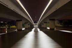 Przy Noc Domowi parlamentów Mosty Zdjęcia Royalty Free