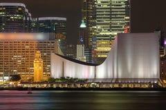 Przy Noc Kulturalny Hong Kong Centre Zdjęcia Royalty Free