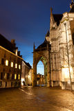 Przy noc stary Miasto obrazy royalty free