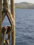 Przy parkiem narodowym Kornati fotografia stock