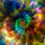 Przyśpieszenie Surrealistyczna farba Obrazy Stock