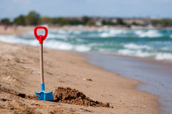 Przy plażą Zdjęcie Stock